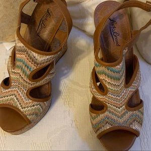 Luck Brand Wedge Sandals